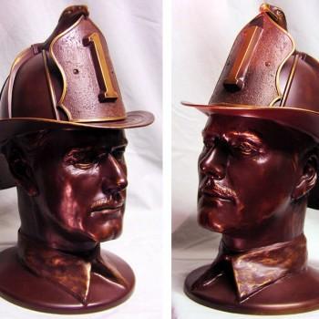 Fireman Bust