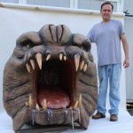 Richard Riley With Star Wars Rancor