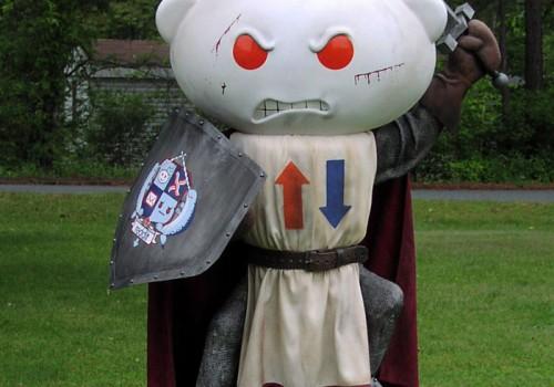 Medieval Reddit Mascot 3