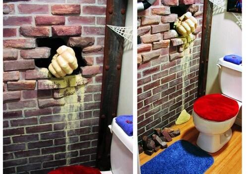 Spiderman Themed Bathroom 1