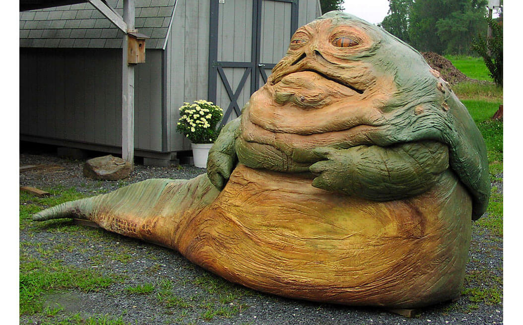 Hey Sharon Moreno you fat faced Jabba the Hut read this Jabba The Hutt